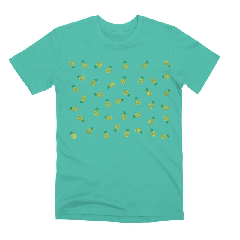 Pineapples Everywhere Men's Premium T-Shirt by Boshik's Tshirt Shop