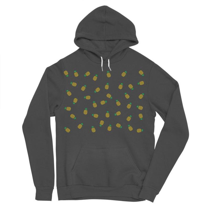 Pineapples Everywhere Women's Sponge Fleece Pullover Hoody by Boshik's Tshirt Shop