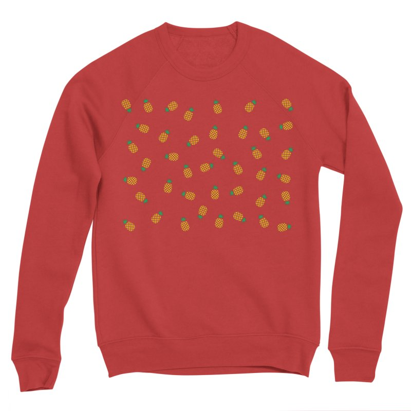 Pineapples Everywhere Men's Sponge Fleece Sweatshirt by Boshik's Tshirt Shop