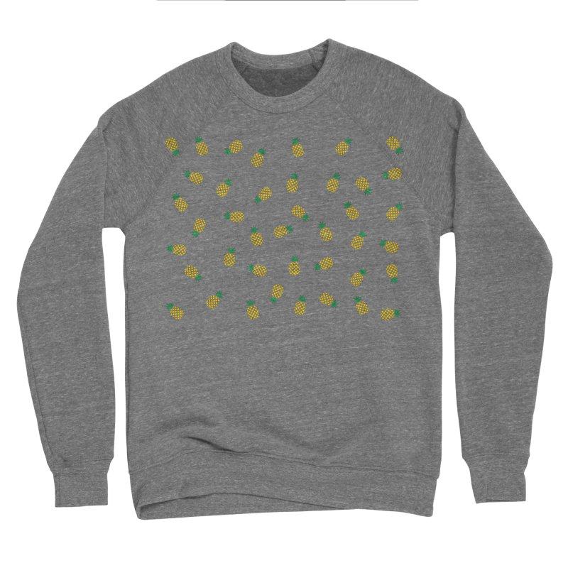 Pineapples Everywhere Women's Sponge Fleece Sweatshirt by Boshik's Tshirt Shop