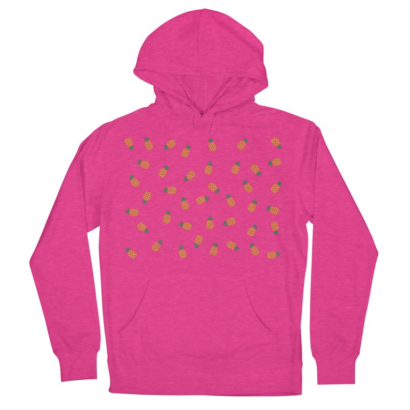 Pineapples Everywhere Men's French Terry Pullover Hoody by Boshik's Tshirt Shop