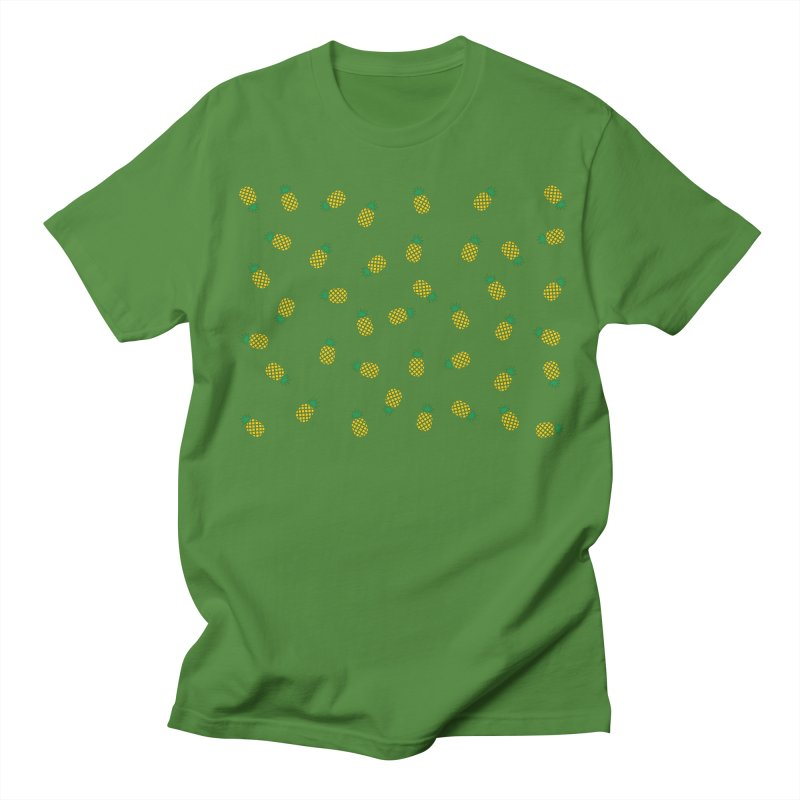 Pineapples Everywhere Men's Regular T-Shirt by Boshik's Tshirt Shop