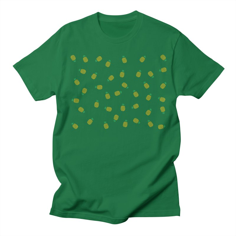 Pineapples Everywhere Women's Regular Unisex T-Shirt by Boshik's Tshirt Shop
