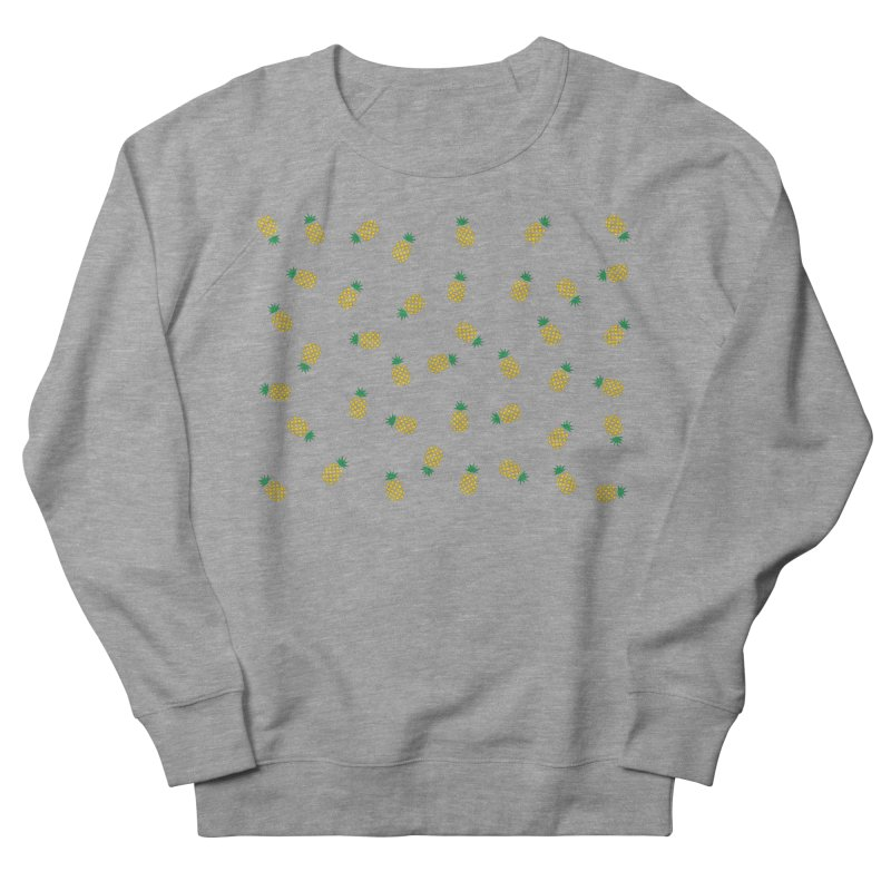 Pineapples Everywhere Men's French Terry Sweatshirt by Boshik's Tshirt Shop