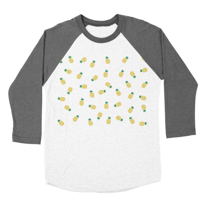 Pineapples Everywhere Women's Longsleeve T-Shirt by Boshik's Tshirt Shop