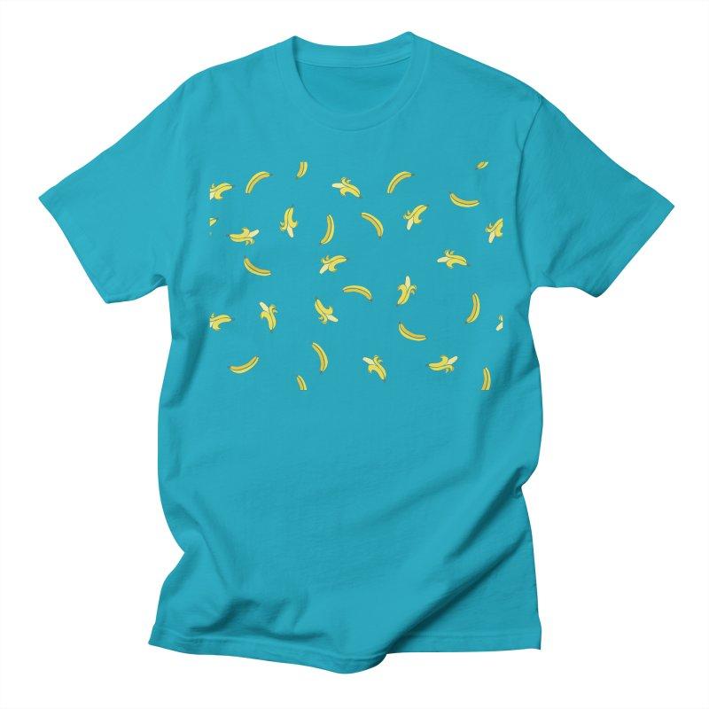 Banananas Men's Regular T-Shirt by Boshik's Tshirt Shop