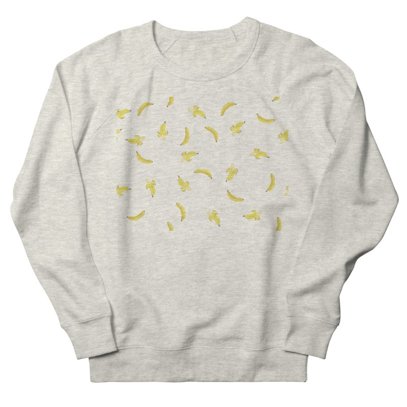Banananas Women's French Terry Sweatshirt by Boshik's Tshirt Shop