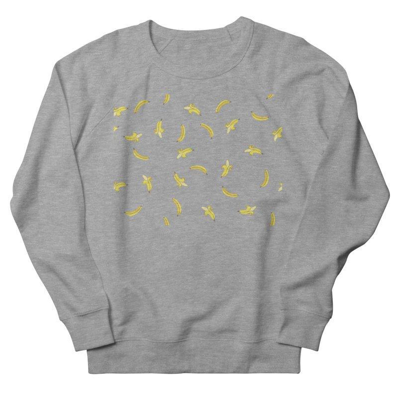 Banananas Men's French Terry Sweatshirt by Boshik's Tshirt Shop