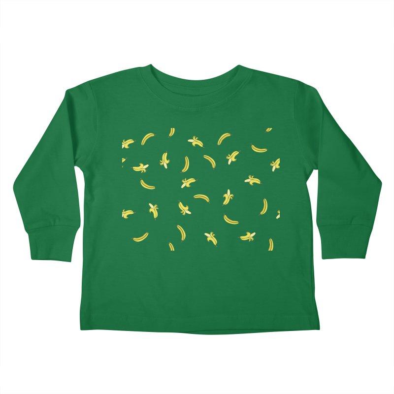 Banananas Kids Toddler Longsleeve T-Shirt by Boshik's Tshirt Shop