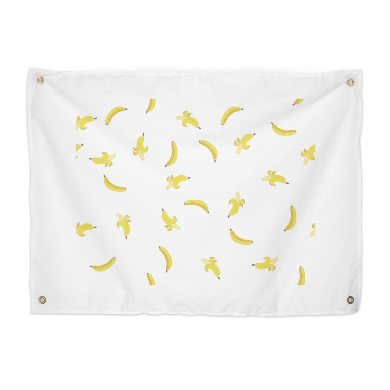 Banananas Home Tapestry by Boshik's Tshirt Shop