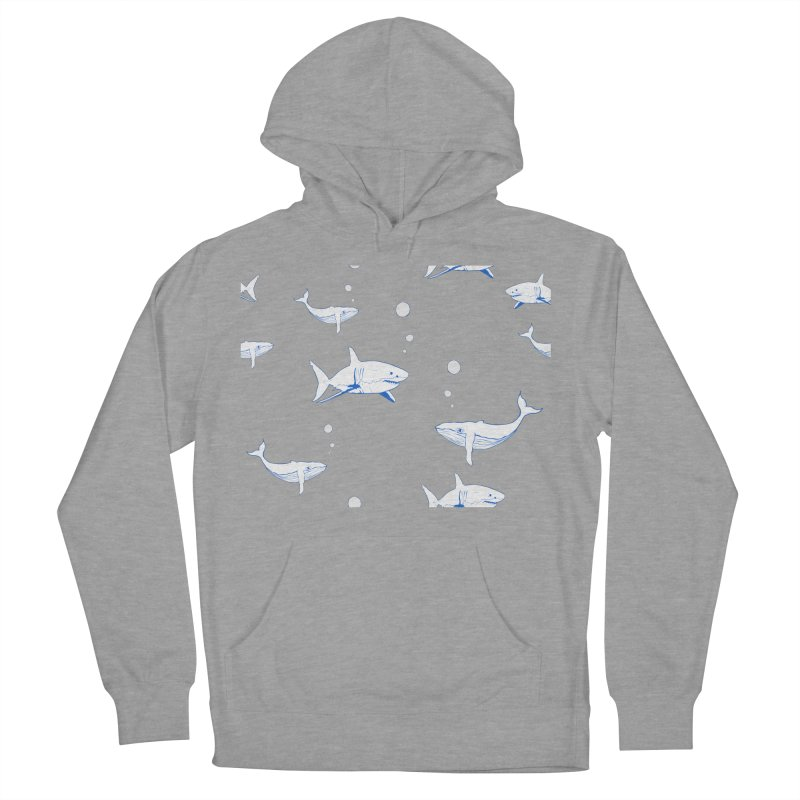 Underwater Love Men's French Terry Pullover Hoody by Boshik's Tshirt Shop