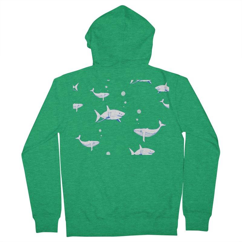 Underwater Love Women's French Terry Zip-Up Hoody by Boshik's Tshirt Shop
