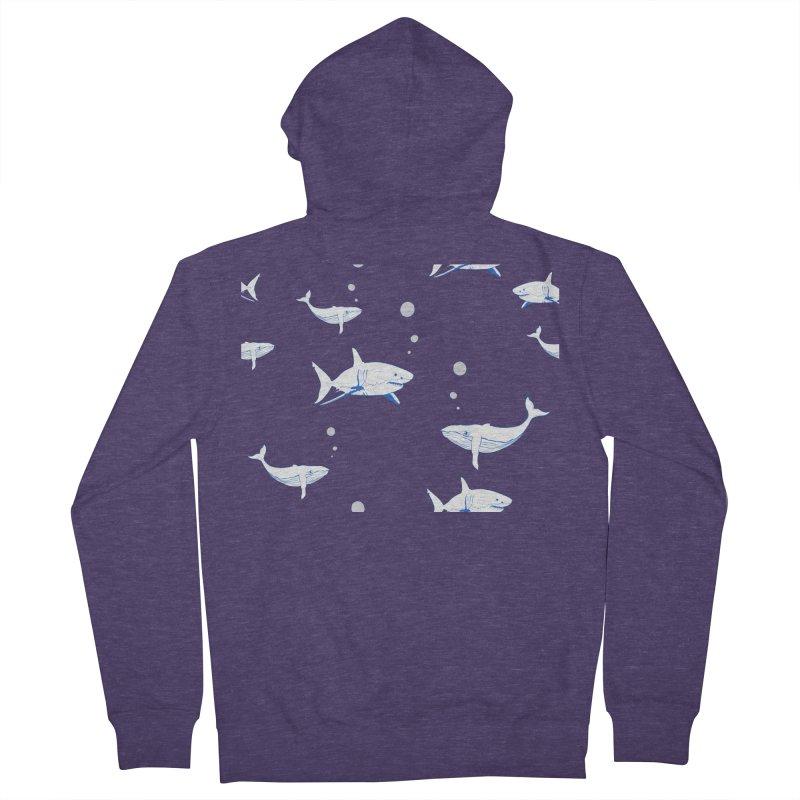 Underwater Love Men's French Terry Zip-Up Hoody by Boshik's Tshirt Shop