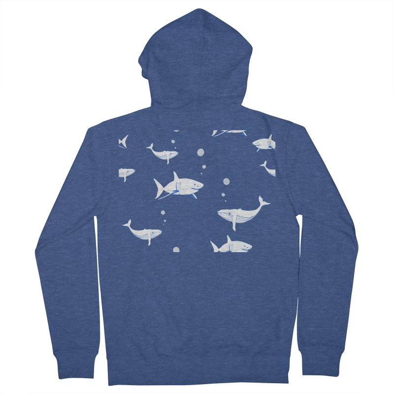 Underwater Love Men's Zip-Up Hoody by Boshik's Tshirt Shop
