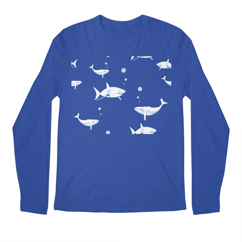 Underwater Love Men's Regular Longsleeve T-Shirt by Boshik's Tshirt Shop