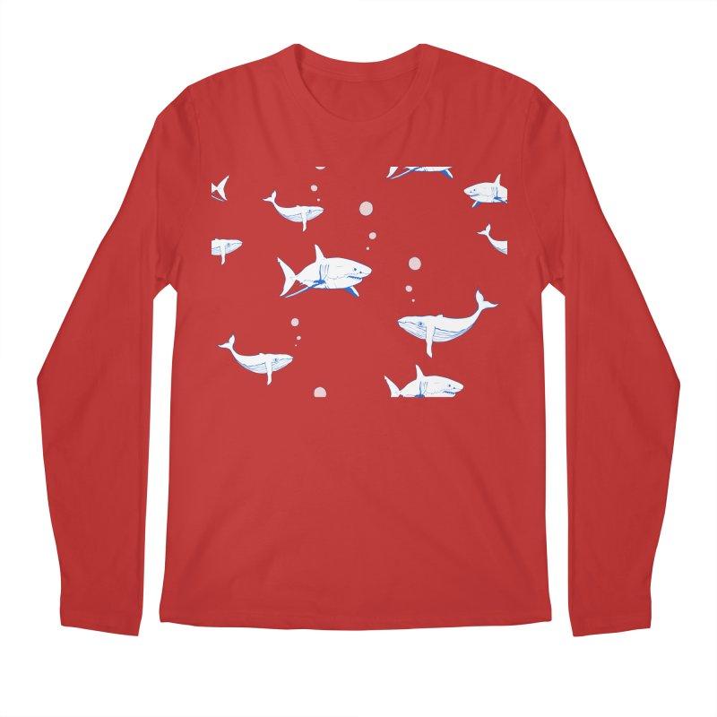 Underwater Love Men's Regular Longsleeve T-Shirt by Boshik's Tshirt Shop