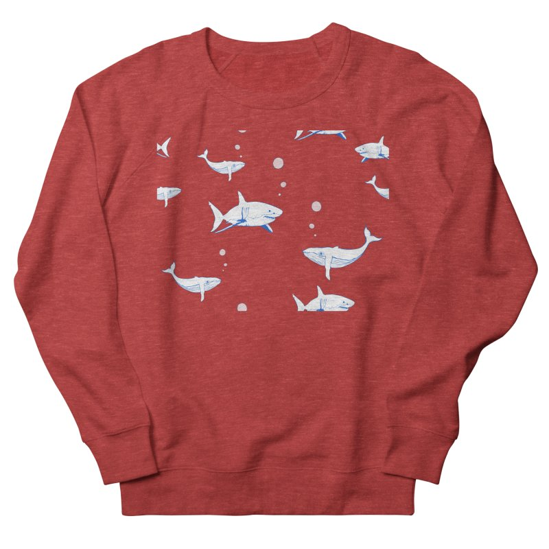 Underwater Love Women's French Terry Sweatshirt by Boshik's Tshirt Shop