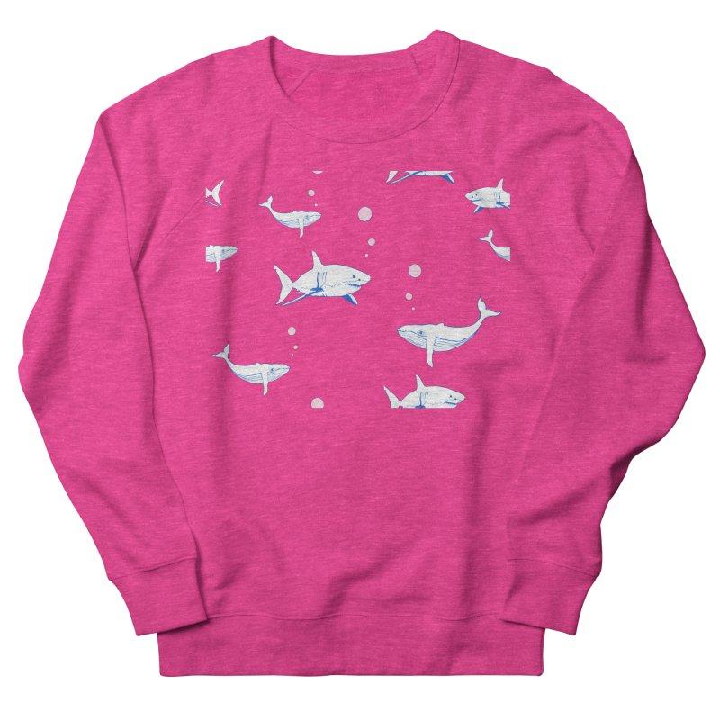 Underwater Love Men's French Terry Sweatshirt by Boshik's Tshirt Shop