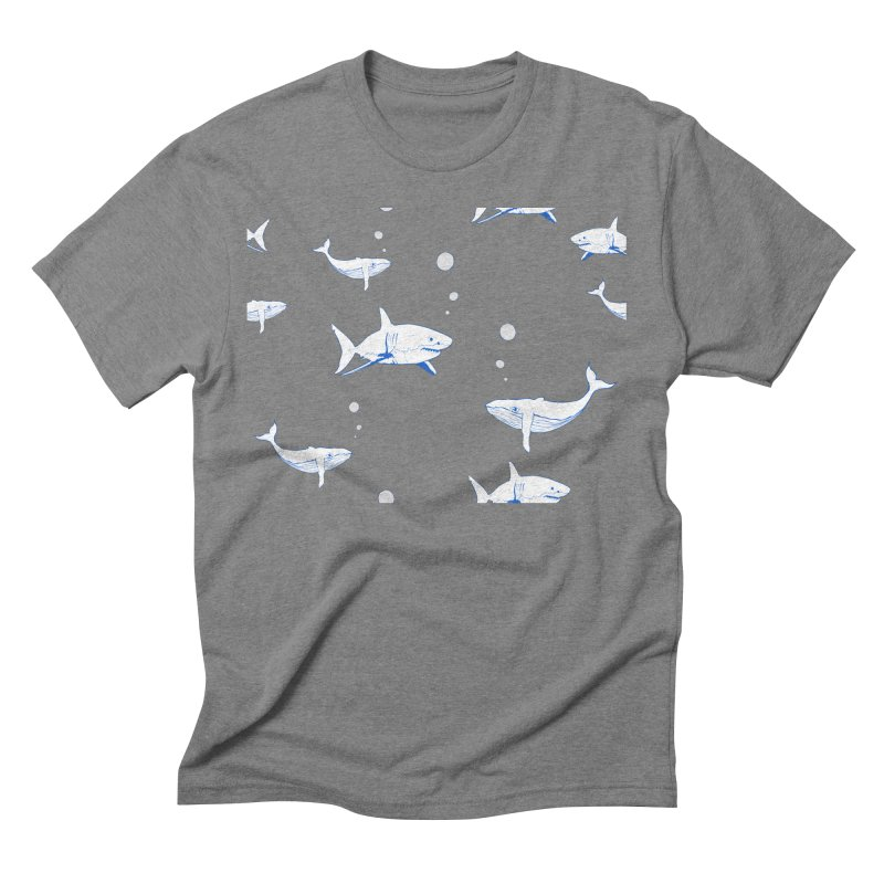 Underwater Love Men's Triblend T-Shirt by Boshik's Tshirt Shop