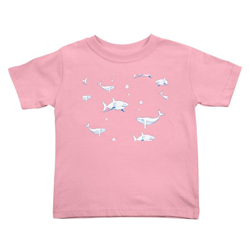 Underwater Love Kids Toddler T-Shirt by Boshik's Tshirt Shop