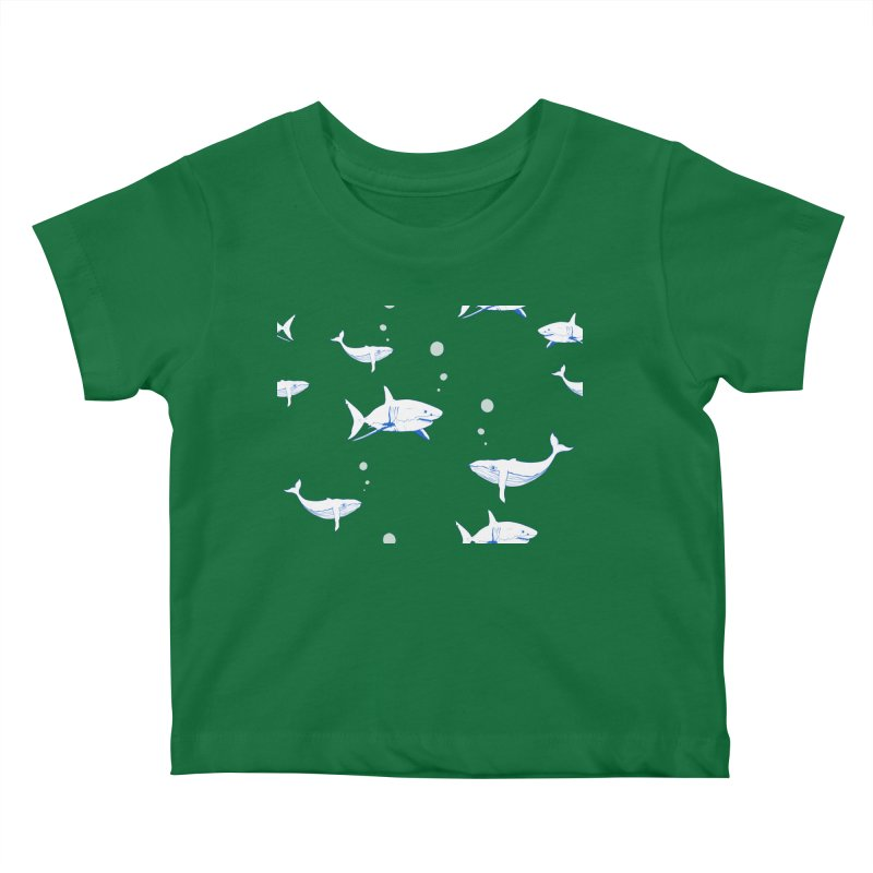 Underwater Love Kids Baby T-Shirt by Boshik's Tshirt Shop