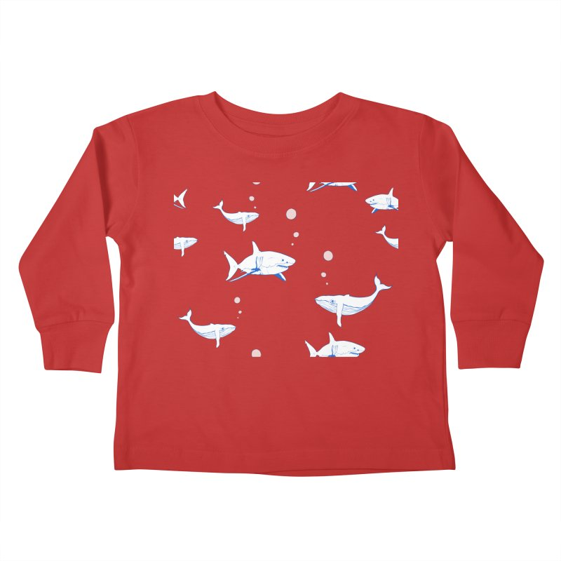 Underwater Love Kids Toddler Longsleeve T-Shirt by Boshik's Tshirt Shop