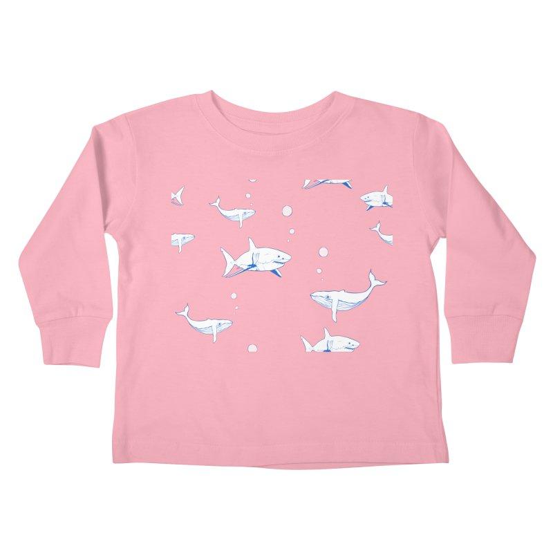 Underwater Love Kids Toddler Longsleeve T-Shirt by Boshik's Tshirt Shop