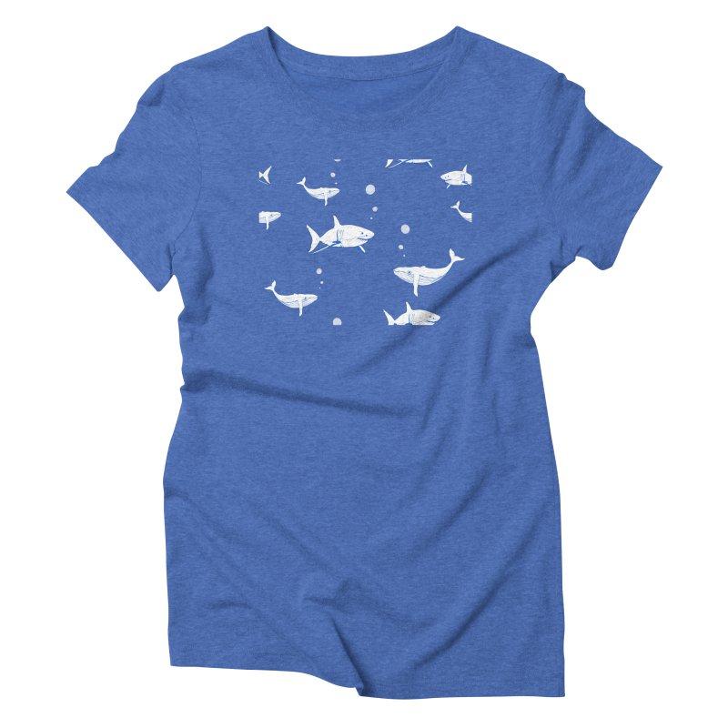 Underwater Love Women's Triblend T-Shirt by Boshik's Tshirt Shop