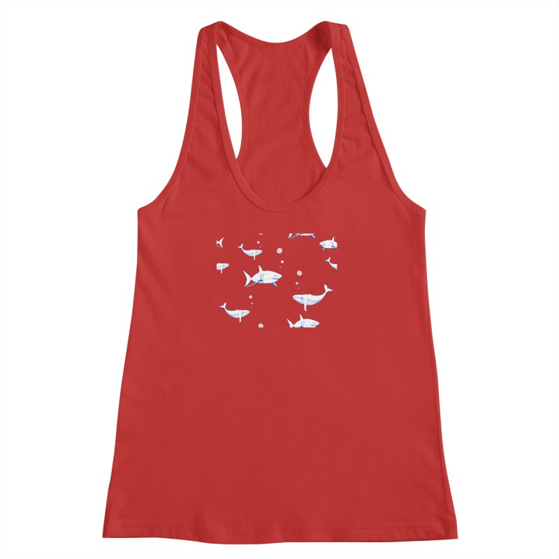 Underwater Love Women's Racerback Tank by Boshik's Tshirt Shop