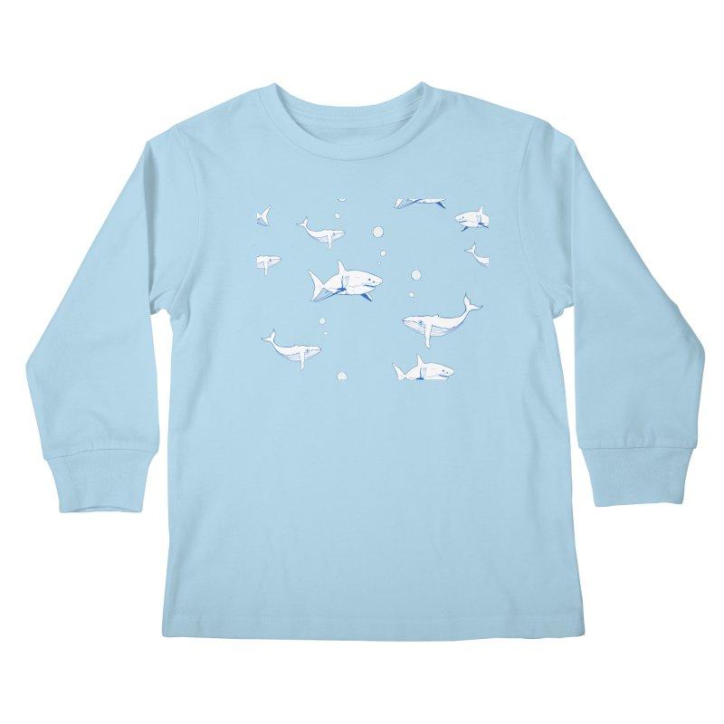 Underwater Love Kids Longsleeve T-Shirt by Boshik's Tshirt Shop