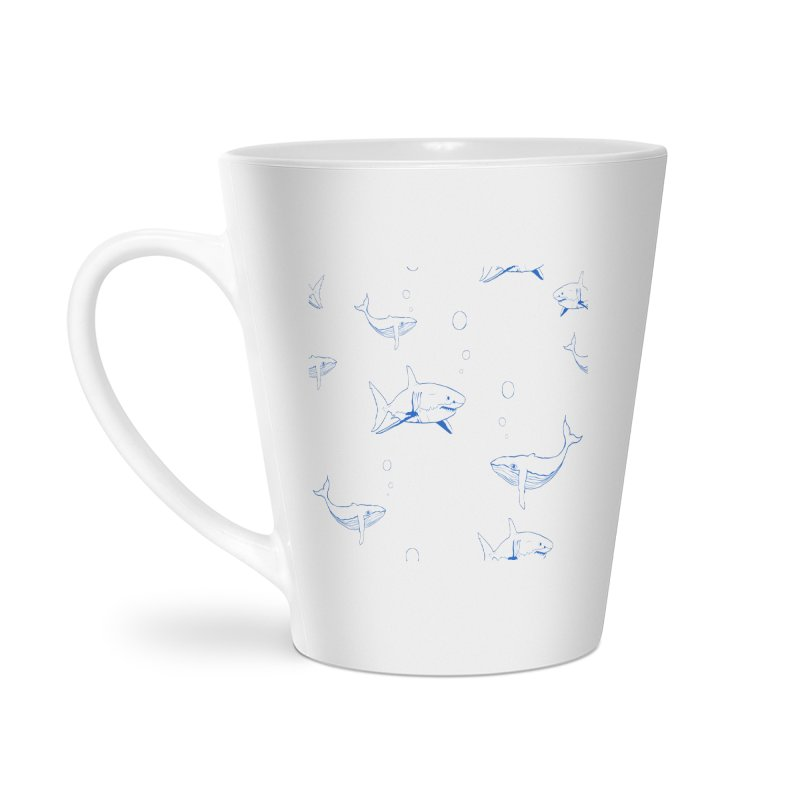 Underwater Love Accessories Latte Mug by Boshik's Tshirt Shop