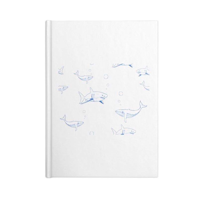 Underwater Love Accessories Blank Journal Notebook by Boshik's Tshirt Shop