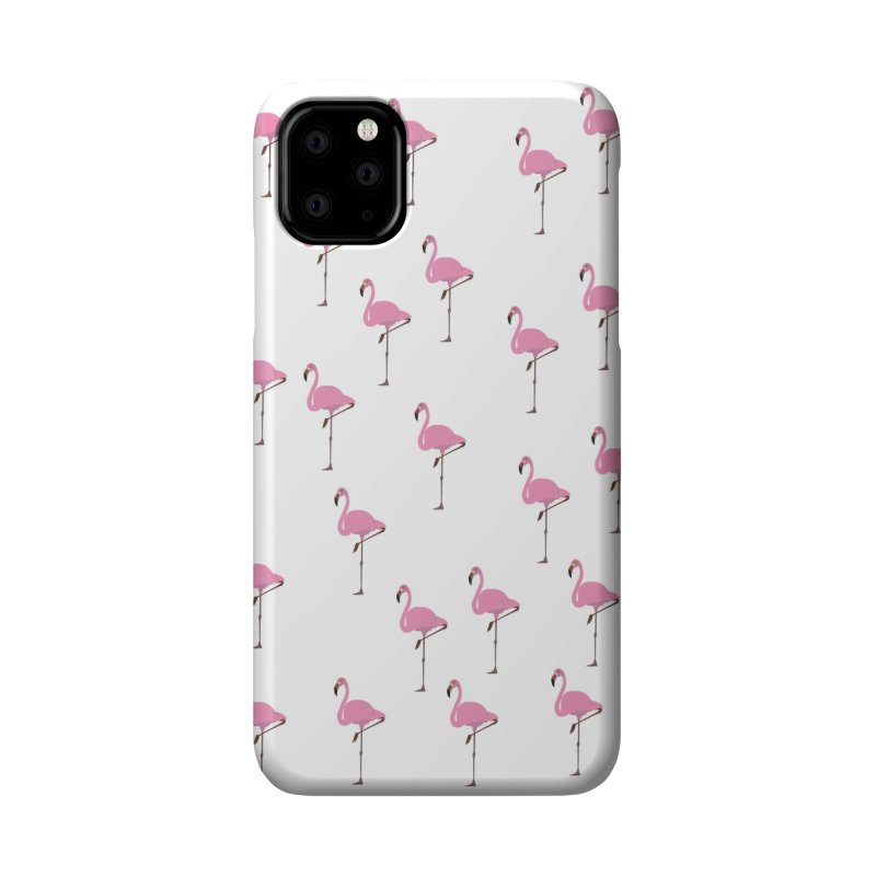 Flamingos Accessories Phone Case by Boshik's Tshirt Shop