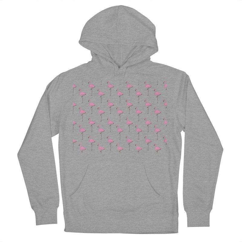 Flamingos Women's French Terry Pullover Hoody by Boshik's Tshirt Shop