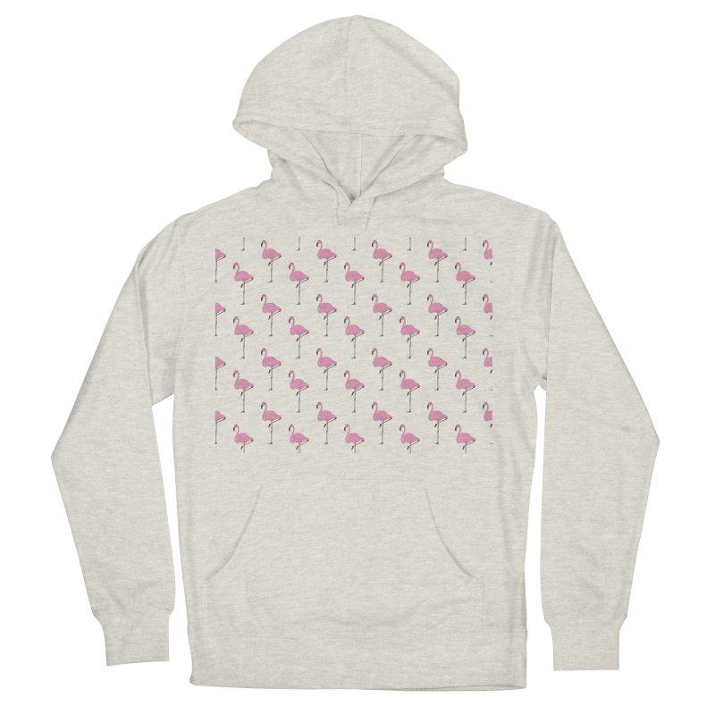 Flamingos Men's French Terry Pullover Hoody by Boshik's Tshirt Shop