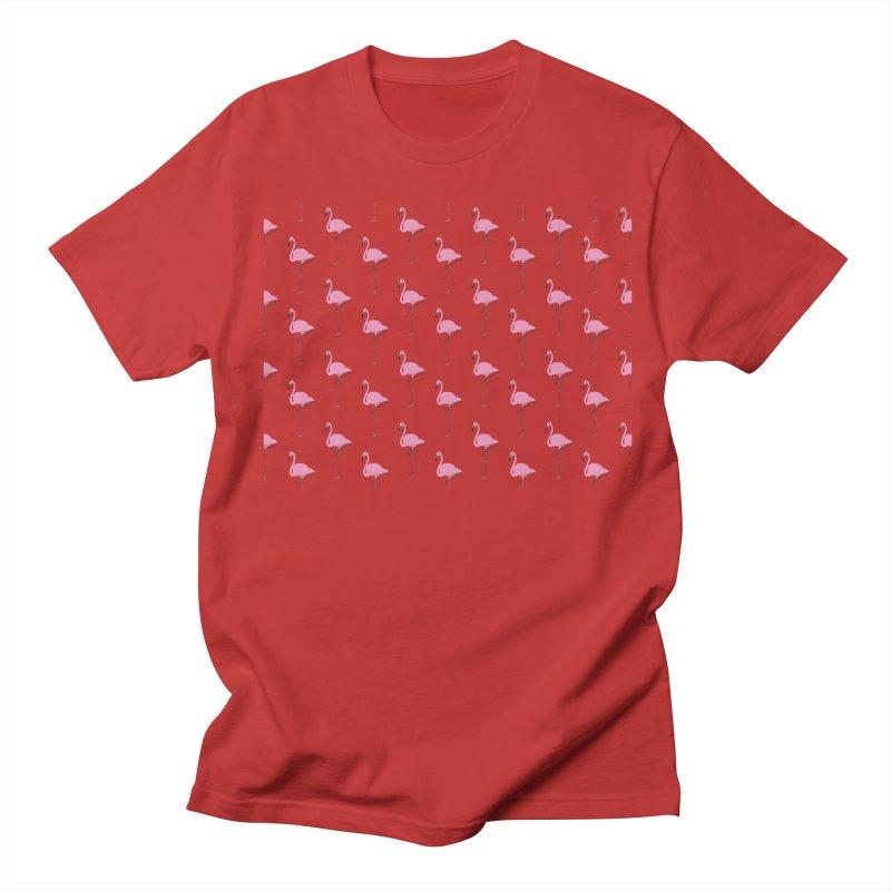 Flamingos Men's Regular T-Shirt by Boshik's Tshirt Shop
