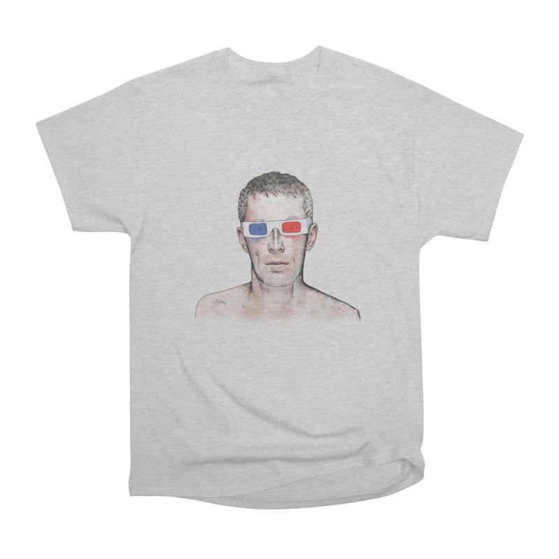 3D dude Men's Heavyweight T-Shirt by Boshik's Tshirt Shop