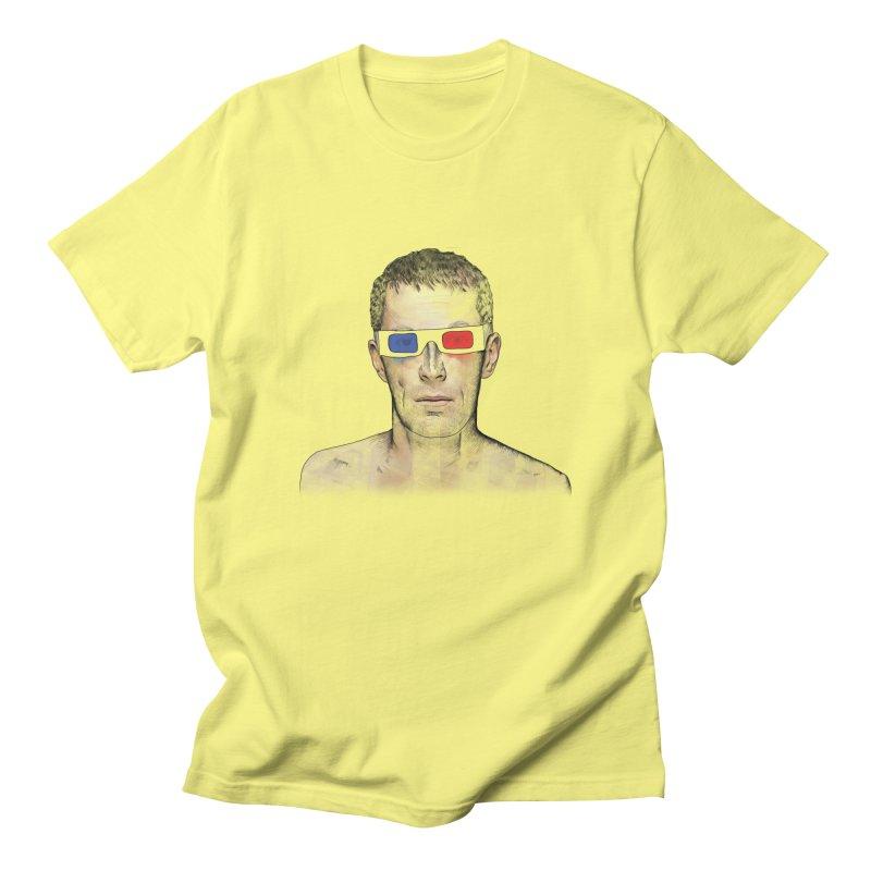 3D dude Men's T-Shirt by Boshik's Tshirt Shop