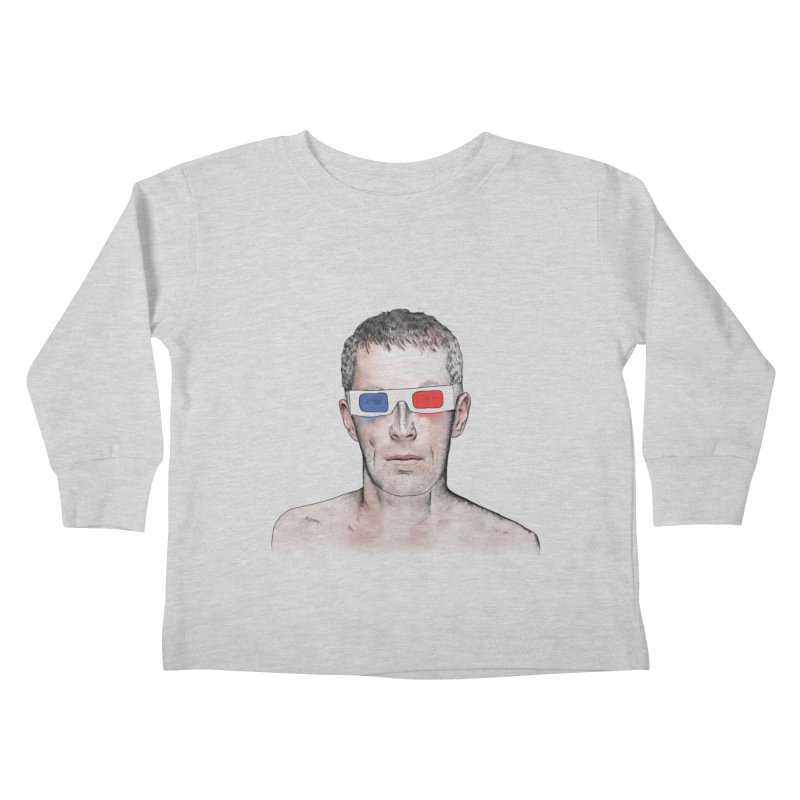 3D dude Kids Toddler Longsleeve T-Shirt by Boshik's Tshirt Shop