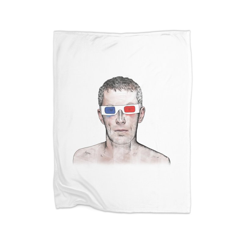 3D dude Home Fleece Blanket Blanket by Boshik's Tshirt Shop