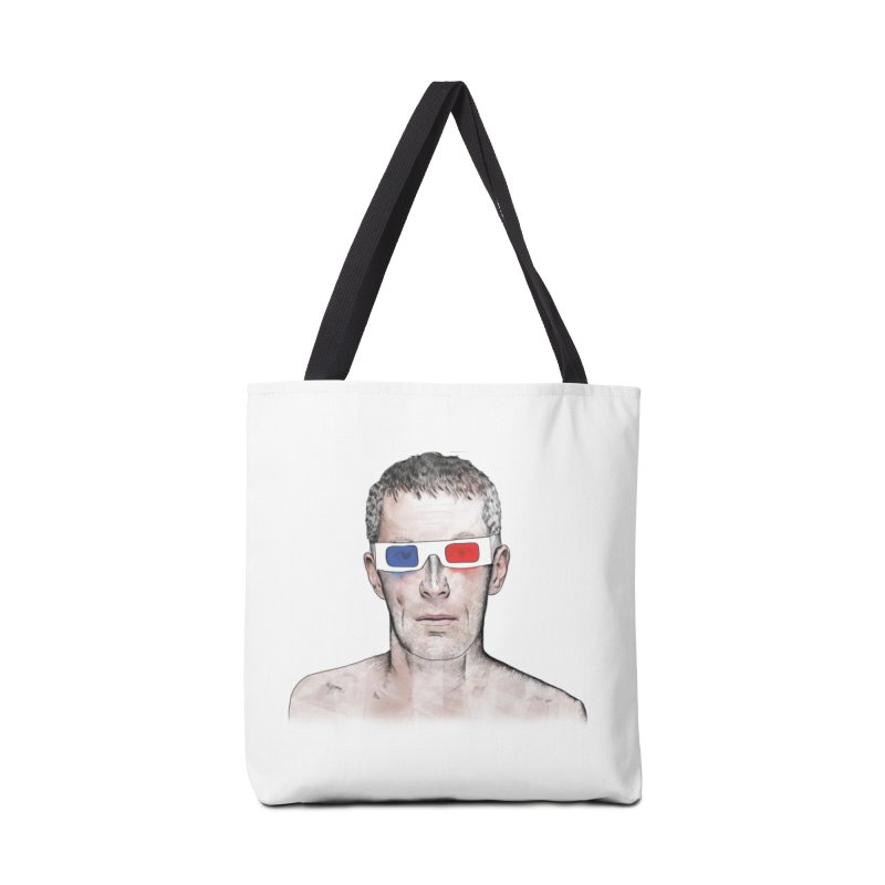 3D dude Accessories Bag by Boshik's Tshirt Shop