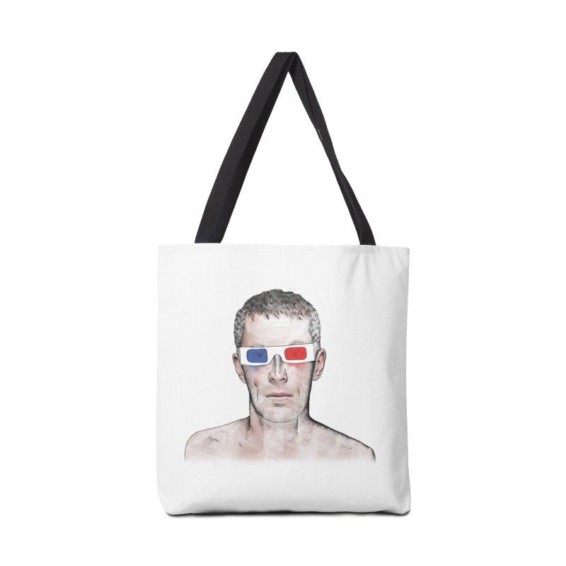 3D dude Accessories Tote Bag Bag by Boshik's Tshirt Shop