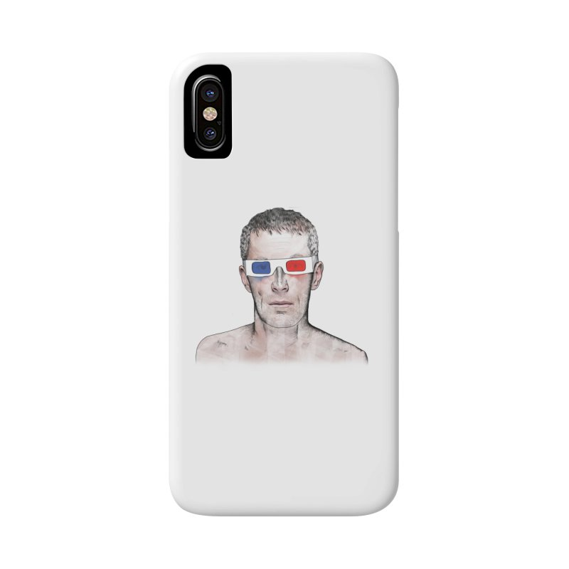 3D dude Accessories Phone Case by Boshik's Tshirt Shop