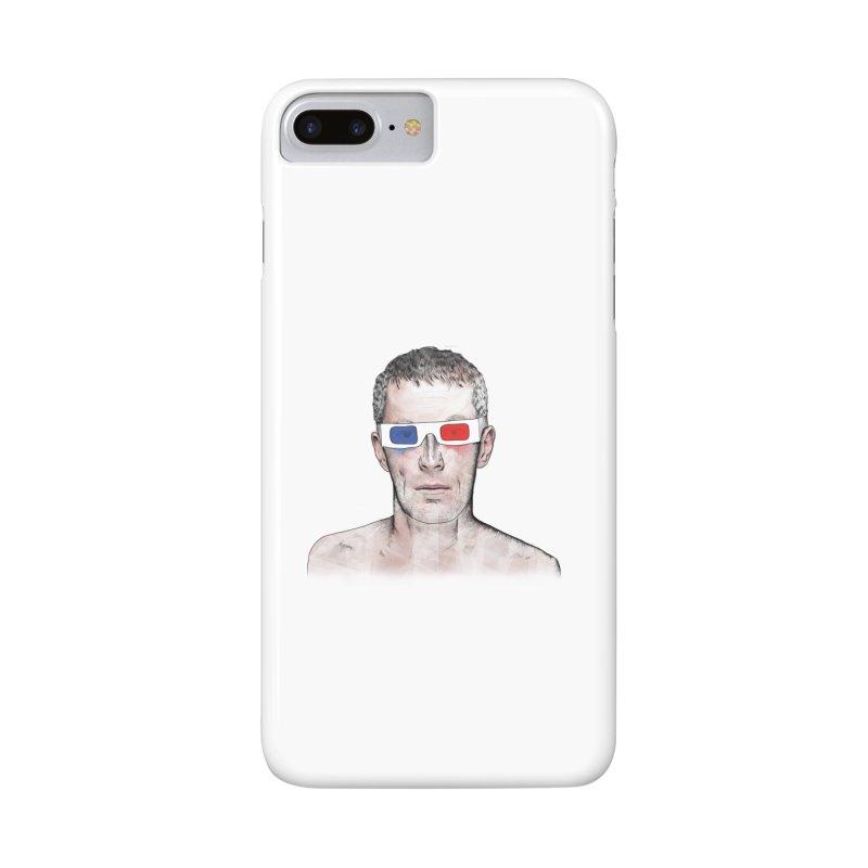 3D dude Accessories Phone Case by Boshik's Tshirt Shop