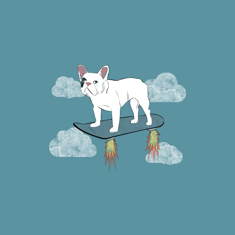 Hover Dog Men's V-Neck by Boshik's Tshirt Shop