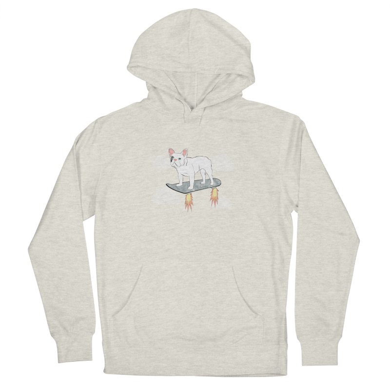Hover Dog Men's French Terry Pullover Hoody by Boshik's Tshirt Shop