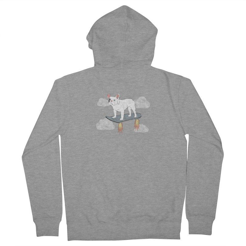 Hover Dog Women's Zip-Up Hoody by Boshik's Tshirt Shop