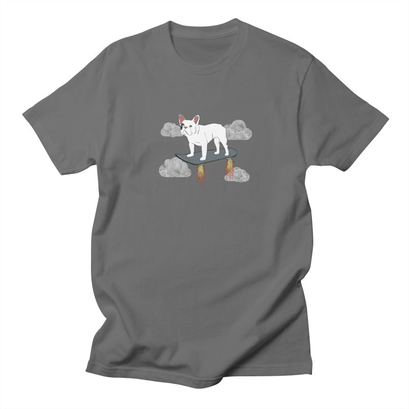 Hover Dog Men's T-Shirt by Boshik's Tshirt Shop