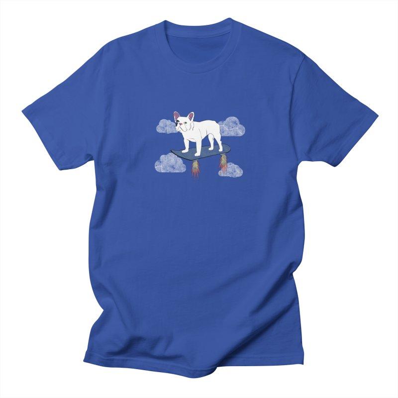Hover Dog Women's Unisex T-Shirt by Boshik's Tshirt Shop
