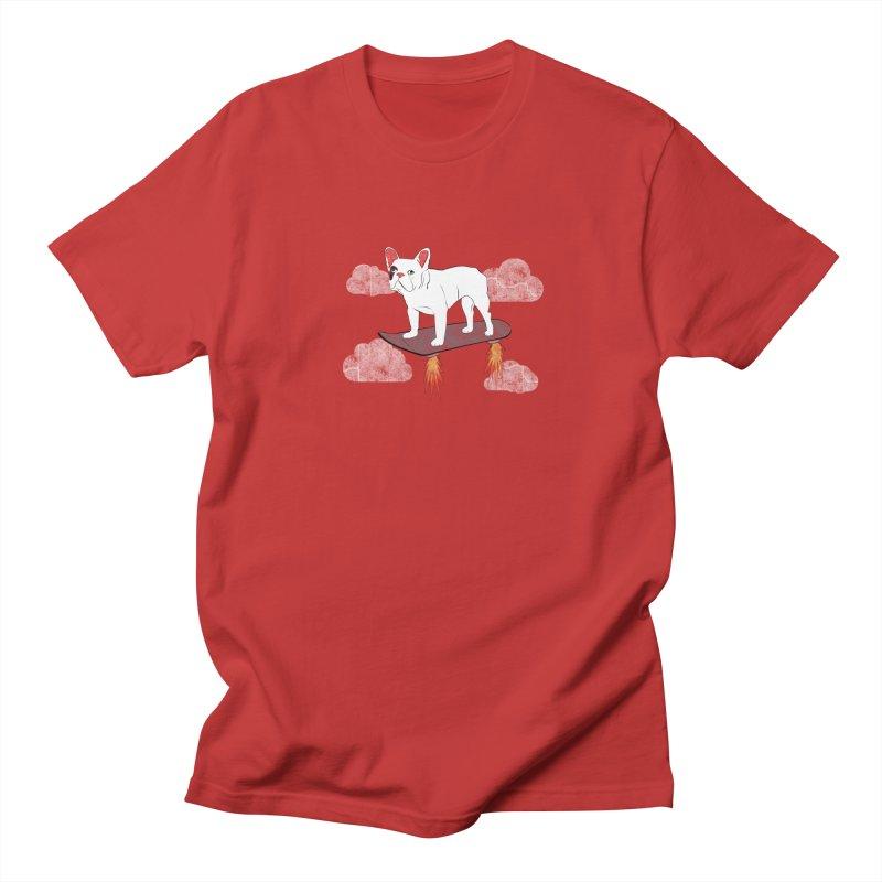 Hover Dog Men's Regular T-Shirt by Boshik's Tshirt Shop